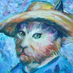 Vincent Van Cat by D. Sanson