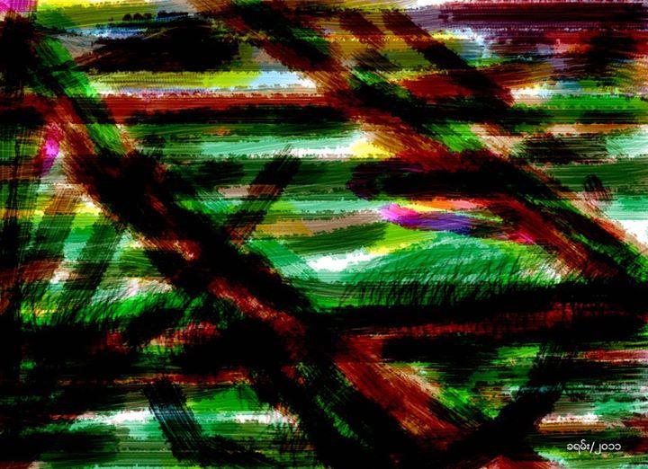 Painting - Khayan, 2011